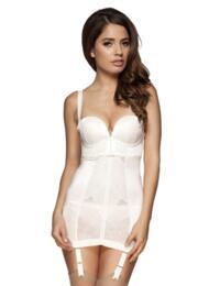 8510 Gossard Retrolution Strapless Control Slip Dress - 8510 Slip Dress