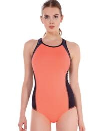 3969 Freya Active Freestyle Moulded Swimsuit Coral Kick  - 3969 Swimsuit