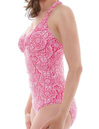 6148 Fantasie San Francisco Halter Swimsuit Hot Coral  - 6148 Swimsuit