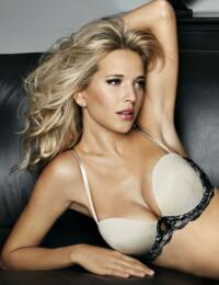3280 Ultimo Black Widow Strapless Plunge Bra Black - 3280 Gold