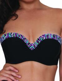 CS3741 Curvy Kate Galaxy Bandeau Bikini Top - CS3741 Bandeau Bikini Top