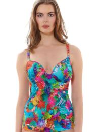 3930 Freya Under The Sea Tankini Top Reef  - 3930 Tankini Top