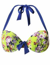 6807 Pour Moi? Paradise Padded Bikini Top Lime - 6807 Bikini Top