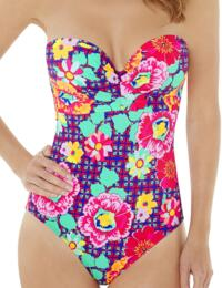 1571800 Lepel Sun Kiss Swimsuit Pink Multi  - 1571800 Swimsuit