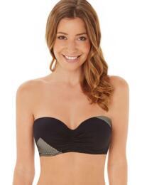 1538640 Lepel Helena Bandeau Bikini Top Black  - 1538640 Bandeau Top