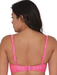CS3961 Curvy Kate Daze Balcony Bikini Top Pink Mix - CS4111 Balcony Bikini Top