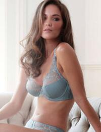 1247010 Charnos Taylor Full Cup Bra Steel Blue - 1247010 Full Cup