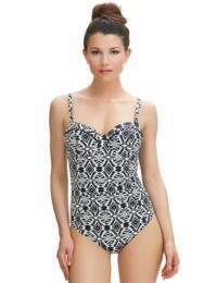 6351 Fantasie Beqa Bandeau Control Swimsuit - 6351 Control Swimsuit