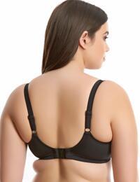 7092 Elomi Cubana Plunge Bikini Top Black - 7092 Bikini Top